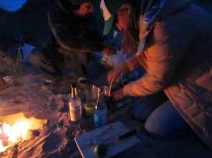 Mojito central in the dunes