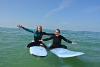 Surf Star Lucie and moi